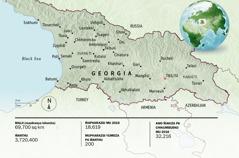 Mapu ya Georgia