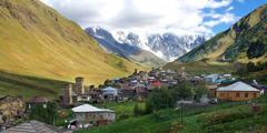 A community in the Upper Svaneti region of Georgia