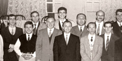 Brothers at a meeting held in Tbilisi in 1992