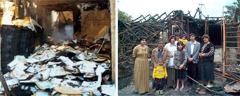 مفتعلو الحرائق حطَّموا اثاث منزل عائلة شامويان وأحد مخازن المطبوعات في جورجيا