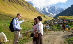 Publishers get ready to preach in Ushguli