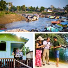 ناشرون في البرازيل يبشِّرون في مناطق منعزلة في الأمازون