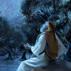 Abraham looking at the stars