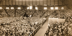 The 1931 Bible Students' convention, where the name Jehovah's Witnesses was adopted