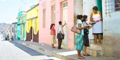 Kingdom publishers preach in Santiago de Cuba