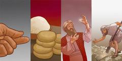 O ifika ia Jezú ia lungu ni mbutu ia mustarda, ni kithûthume, ni ngenji, ni kitadi kiósueke