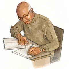 A Kingdom publisher doing personal study