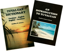 Tuvaluan dictionary and grammar book