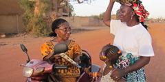 Sarah Maiga u chumayela wansati ni xinhwanyetana a ri eka xithuthuthu xakwe xa mavhilwa manharhu