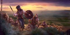 Mosambisi Gideona azali kokamba basoda ya Yisraele