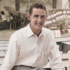 Denton Hopkinson as a young man