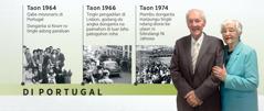 Si Douglas Guest di Portugal taon 1964, di pengadilan tingki taon 1966, di parpunguan taon 1974, dohot tungganeborungku, si Mary Guest