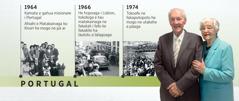 Douglas Guest i Portugal he 1964, he hopoaga fakafili he 1966, he feleveiaaga he 1974, moe hoana haana ko Mary Guest