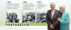 O Daglas Gest ki Portugalija ko 1964berš, ko sudo ko 1966berš, ko sostanok 1974berš, hem pe romnjaja, i Meri Gest