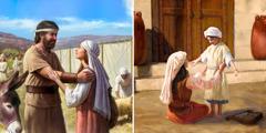 Te Jefté sok te yantsil nich'an ayik ta Nailpak' Templo, te Ana ya sk'otes ta pasel te bin jamal la yalbey Dios te ya spase, jich yak ta yik'el bael ta Nailpak' Templo te tut yal te Samuel sbiile