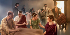 The apostle Peter eats with Jewish Christians in Antioch but not with Gentile Christians