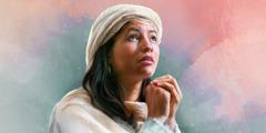 Hannah prays
