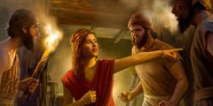 Rahab manyahukan mata-mata Israel bara uluh je manggau ewen
