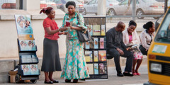 Μάρτυρες του Ιεχωβά κερένα έργος με σταντ κο Λάγος