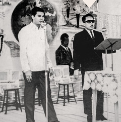 Felix Fajardo nẹ̌bawa nasẹ̌ su kebaktian taung 1963