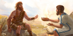 Zakob aste drwa premie-ne Ezau