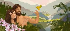 Adam ni Ev adi mu chir cha Eden