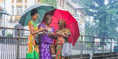Bankabula kilongulu ku divula di Freetown, Serra Leoa