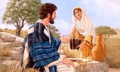 Yesus dawos ḇe bin Samaria oso ro sumur andir ya
