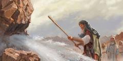 Moses nih ṭhiangṭhunh in lung kha a tuk i ti a chuak