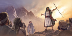 Dee Leifi sëmbë ko makandi ku Mosesi a di kuun de kai Sinai