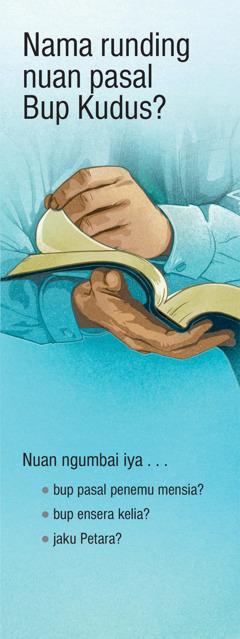 Nama Runding Nuan pasal Bup Kudus?