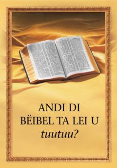 Andi di Bëibel sa lei u?