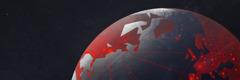 Una imatge de la terra mostrant com les epidèmies s'estenen pels continents.