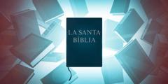 La Bíblia envoltada de diferents llibres de consulta.