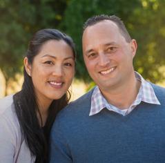 Karyn et Daniel.