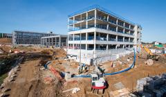 25 de setembre del 2018: Edifici de vivendes A