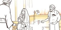 Si Samuel diha sa templo