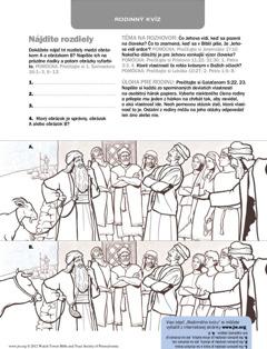 Obrázkový pracovný list na stiahnutie