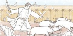 Kaupmehed ja rahavahetajad templis