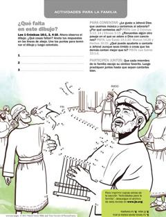Actividad ilustrada para descargar