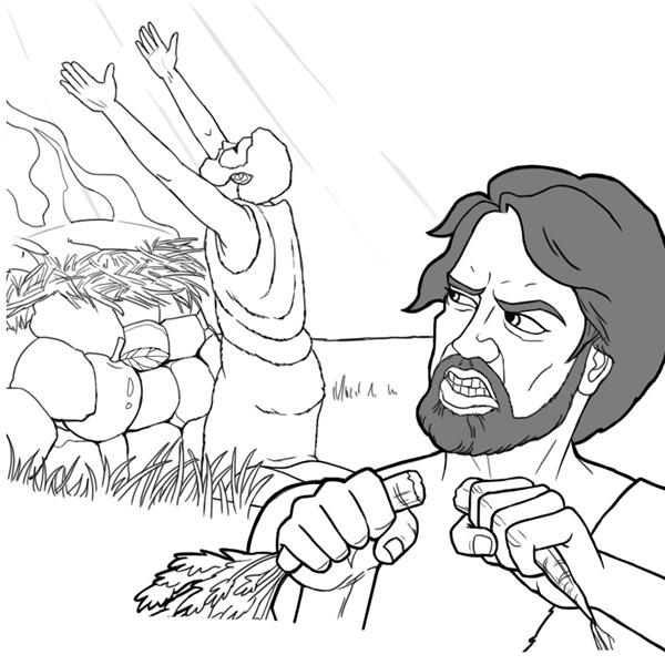 Que Aprendemos De Cain Y Abel Actividades Ilustradas Para La