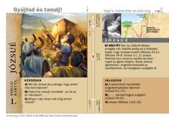 Bibliai kártya: Józsué