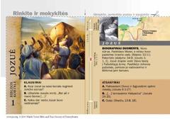 Biblijos kortelė: Jozuė