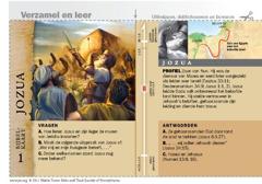 Bijbelkaart over Jozua