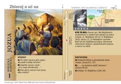 Biblická kartička– Jozua