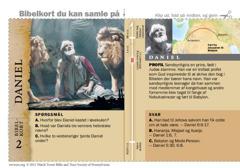 Bibelkort — Daniel