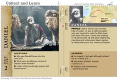 Daniel Bible Card
