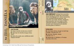 Bībeles kartīte: Daniēls