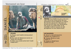 Bijbelkaart over Daniël