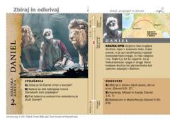 Biblijska kartica o Danielu